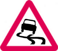 Slippery Road